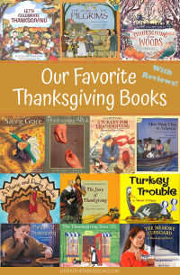 Favorite Thanksgiving Books at LifeInTheNerddom.com
