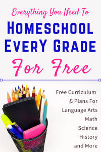 Homeschool Every Grade for Free at LifeInTheNerddom.com